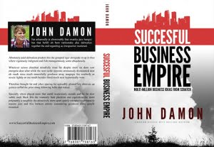 4536Print Ready Business PSD Book Cover Amazon
